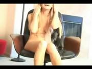 Masowanie cipeczki na krześle