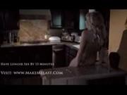 Monigue - gorący sex w kuchni